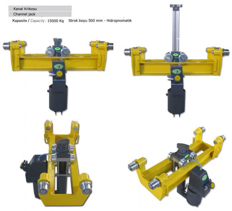 Hidro Pnömatik Kanal Krikosu 15 Ton(ENK-HP-TMS15000)