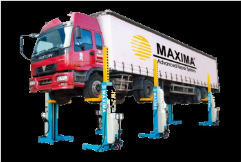 Ağır Vasıta Mobil Sütunlu Lift - 6 x 7.5 ton (Kablosuz)(ENK-ML6045W)