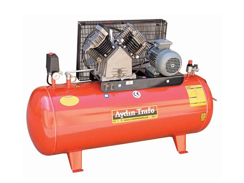 Aydın Trafo Çift Kademeli Pistonlu 300 LT 4 HP(AYD-22-300/4HP)