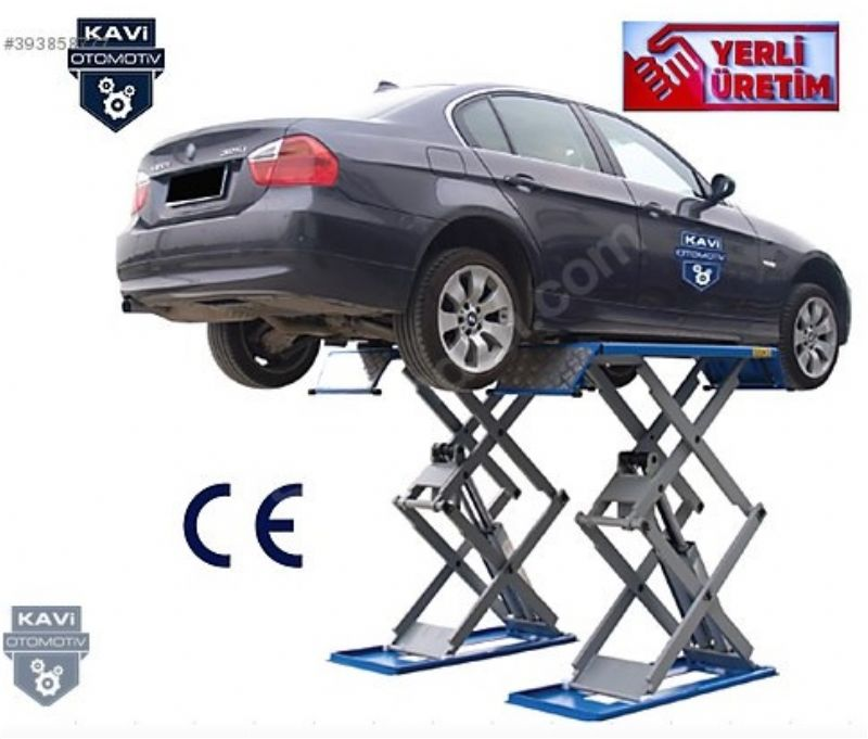 3 Ton Elektro Hidrolik Makaslı Resepsiyon Lifti KAVİ(ENK-RES-3000)