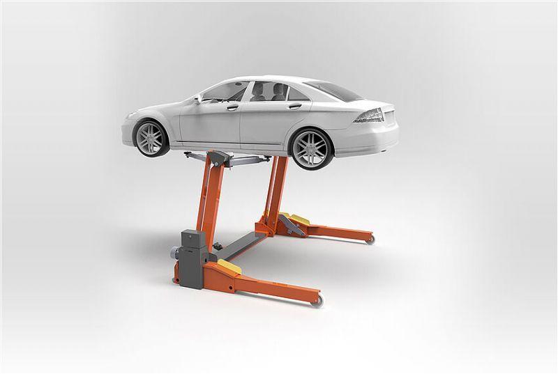 Binek ve Hafif Ticari Araçlar İçin Mobil Lift 3000 KG(ENK-FHB3000-03-SS-2300)