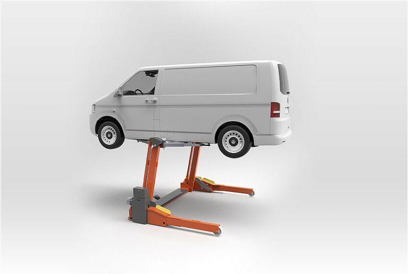 Binek ve Hafif Ticari Araçlar İçin Mobil Lift 3000 KG(ENK-FHB3000-04-SL-2300)