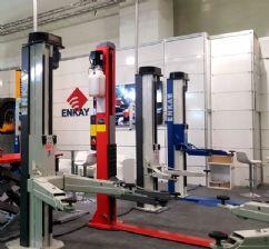 Pro İki Sütunlu Akıllı Lift 5 Ton(Şasesiz) Ticari(SMART2-5000T)