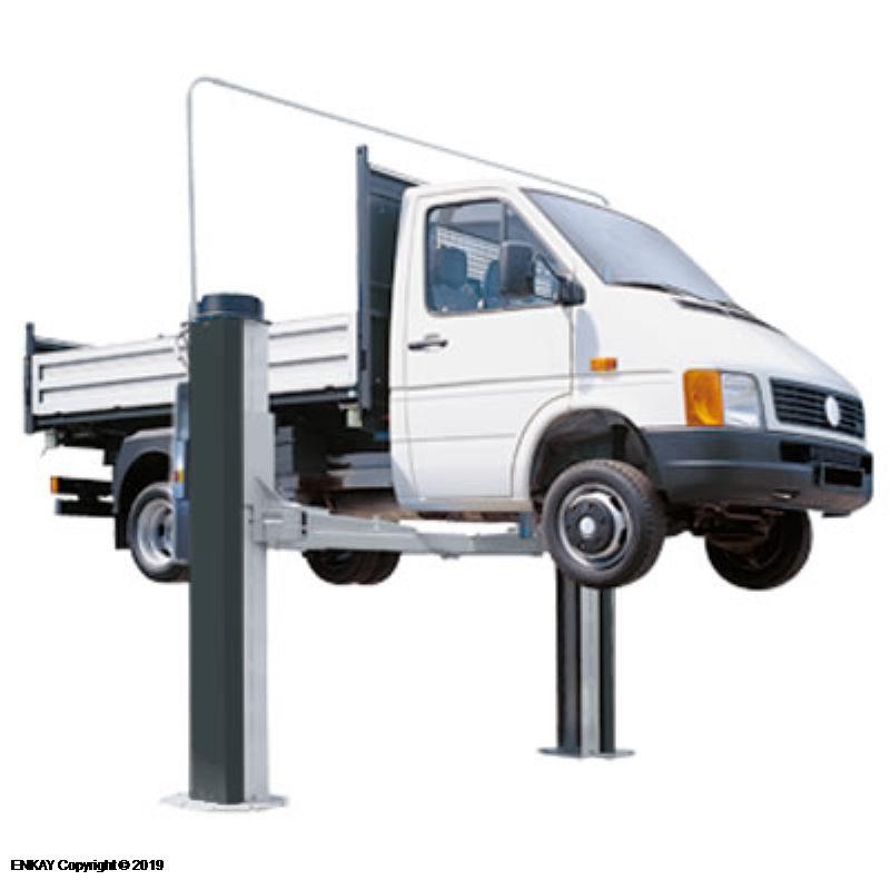 Pro İki Sütunlu Akıllı Lift 5 Ton(Şasesiz)(SMART2-5000)
