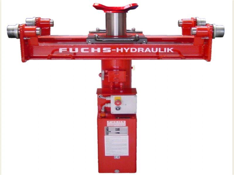 Kamyonlar Ve Ağır Ticari Araçlar İçin Kanal Krikosu - 14 ton - Pnömatik ve Hidrolik (FCH-FVH.14000-L)