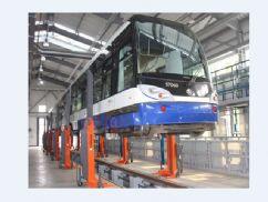 Demir Yolu Taşıtları İçin Mobil Liftler(FKB-EHB907KFDC-wireless)