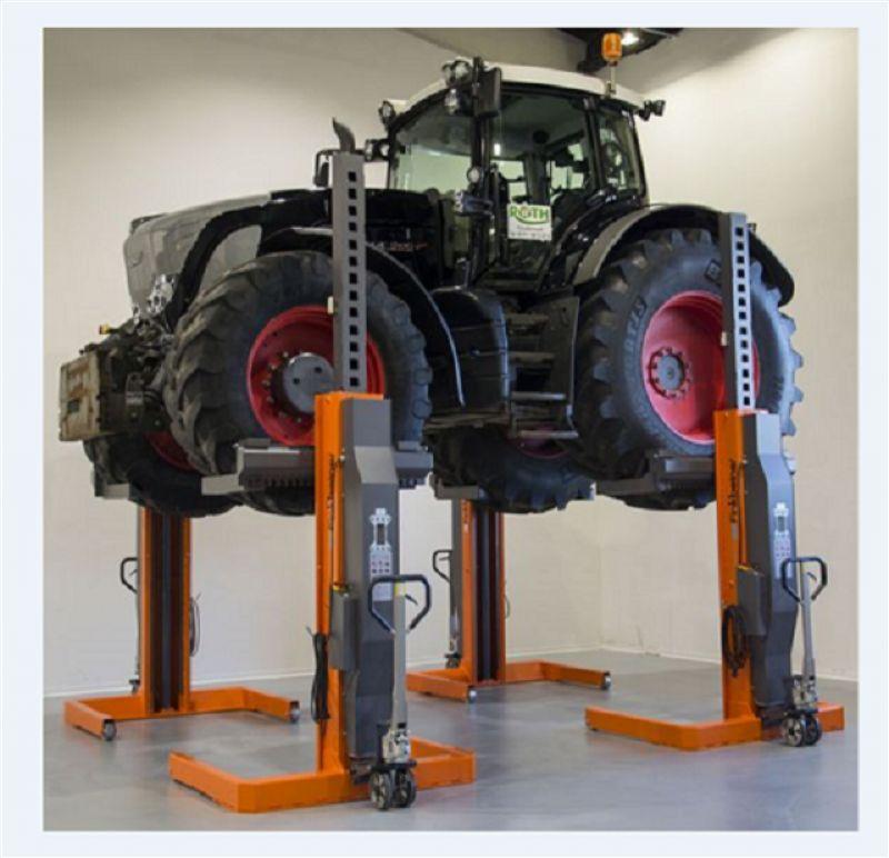 Tarım Araçları İçin 4 Sütunlu Mobil Lift(FKB-EHB705V20DC-4-PR288wireless)