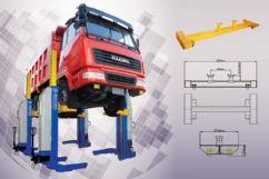 Ağır Vasıta Mobil Sütunlu Lift - Kablosuz - 4 x 5.5 Ton(ENK-ML4022W)