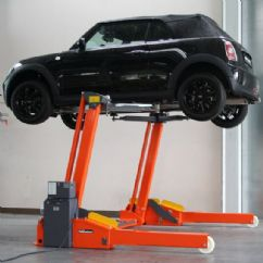 Binek ve Hafif Ticari Mobil Lift - Simetrik - 3 Ton - 2000 mm(FKB-FHB3000-01-SS-2000)