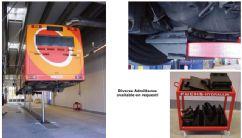 Kamyon, Otobüs ve Ağır Vasıta Araçlar İçin 3 Silindirli Gömülü Lift(FCH-TH.5-3-B)
