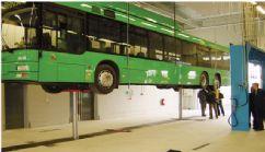 Kamyon, Otobüs ve Ağır Vasıta Araçlar İçin 2 Silindirli Gömülü Lift(FCH-TH-5-2-W)