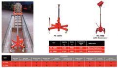 Ticari Araçlar İçin Kanal İçi Zeminde ve Dış Ortamda Kullanılabilen Kriko(FCH-TS-3000)