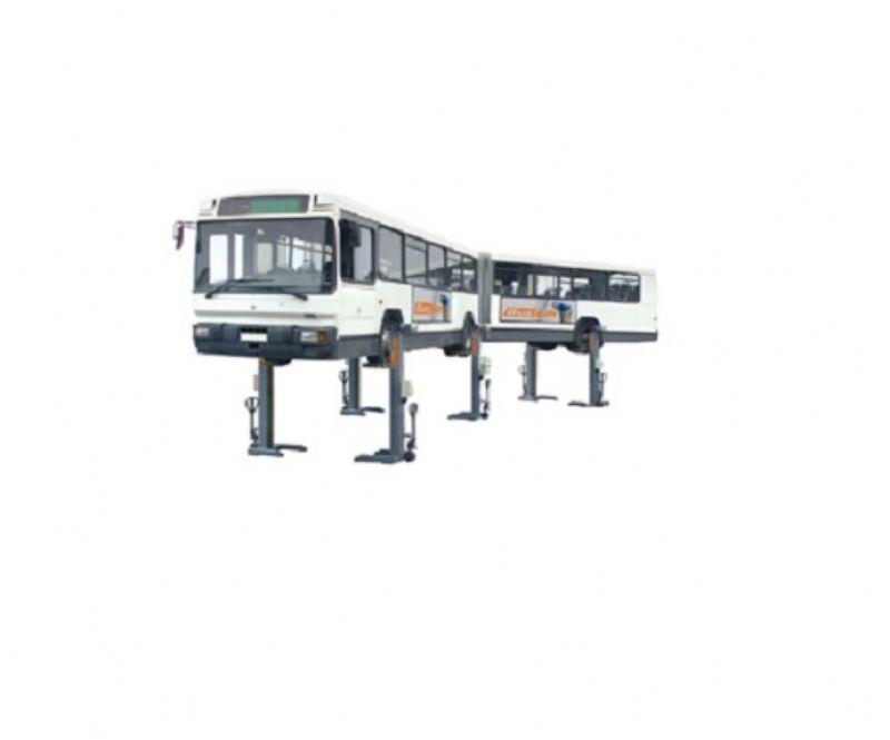 Demir Yolu Taşıtları İçin Mobil Liftler - 7,5 Ton(BUS-BL175EW)