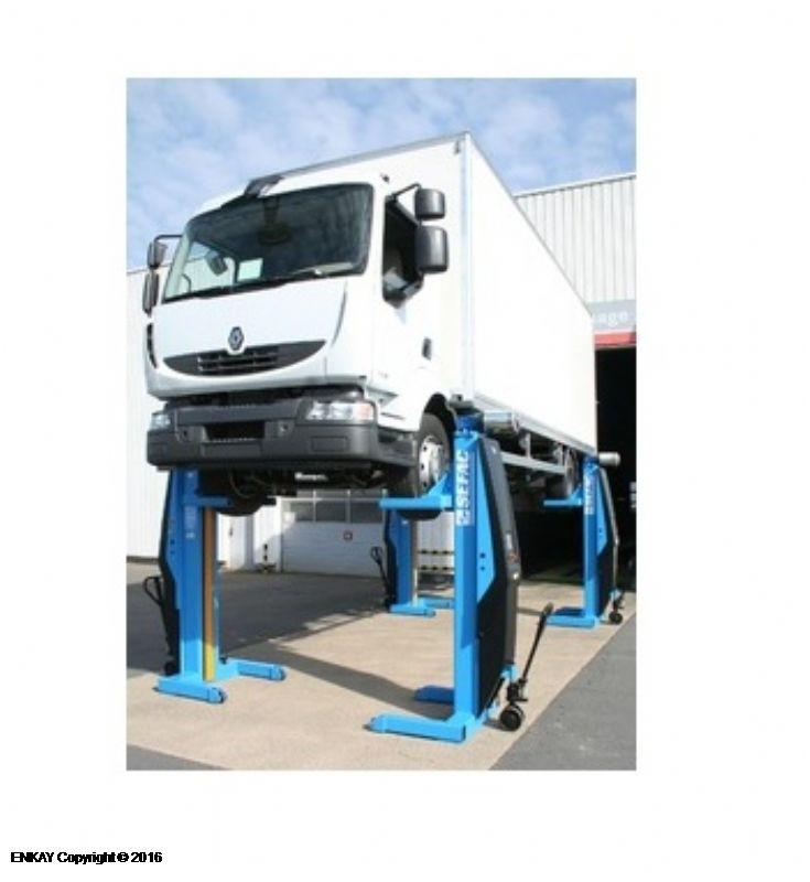 Ağır Vasıta Mobil Sütunlu Lift - 4 x 7.5 Ton (SFC-PME-412075SW2)