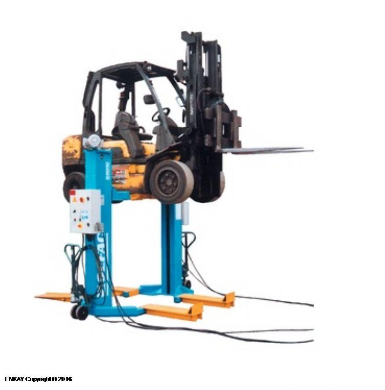 Forkliftler İçin Mobil Sütunlu Lift - 2 x 4 Ton(SFC-900M40)