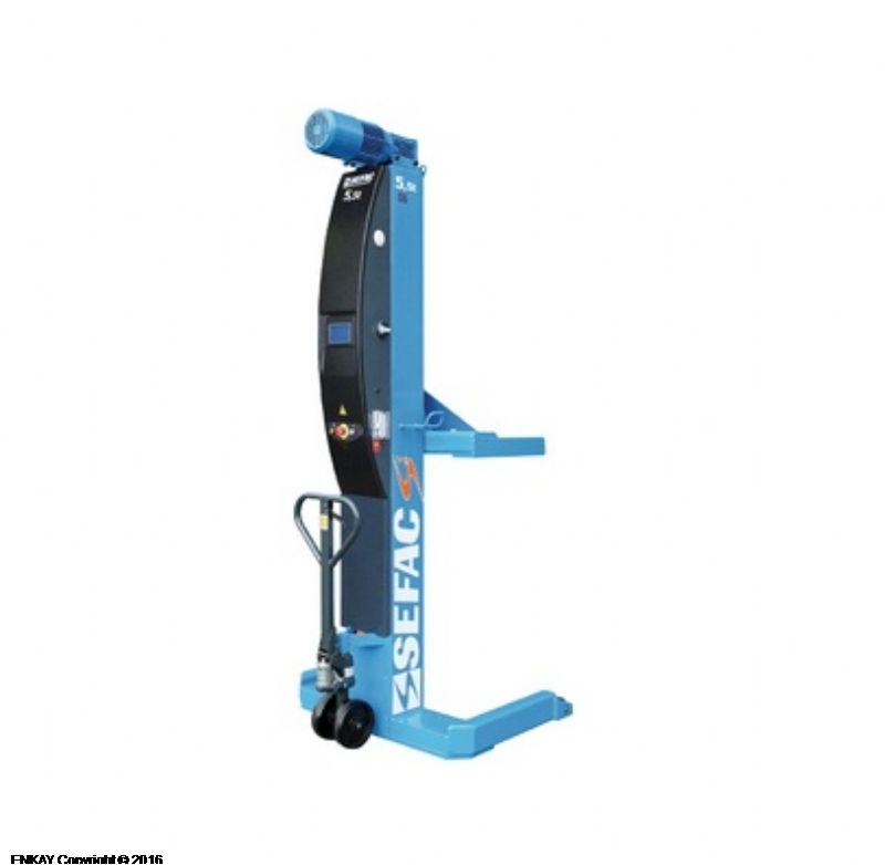 Ağır Vasıta Mobil Sütunlu Lift - 6 x 5.5 Ton (SFC-PMX-612055SV)