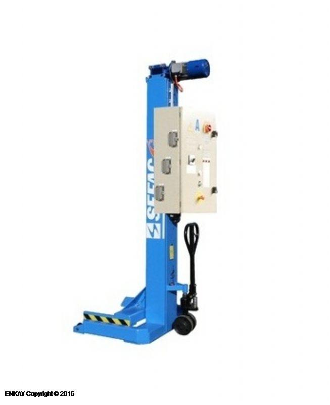 Ağır Vasıta Mobil Sütunlu Lift - 6 x 8.2 Ton (SFC-PMZ-612082S3)
