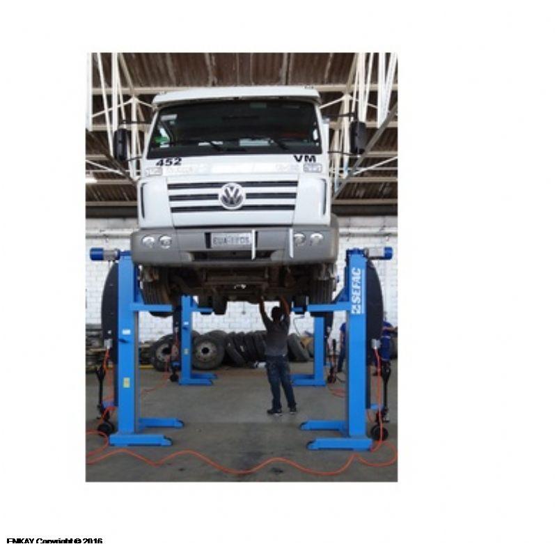 Ağır Vasıta Mobil Lift 4x5.5 (SFC-PMZ-412055S1)