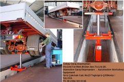 Kamyonlar Ve Ağır Ticari Araçlar İçin Kanal Krikosu - Pnömatik ve Hidrolik - 14 Ton(FCH-LGH.14-700-110)