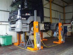 Ticari Kamyonlar ve Otobüsler İçin Mobil Lift - 4 x 7,2 Ton(FKB-EHB707V11-4)