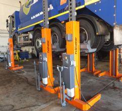 Ticari Kamyonlar ve Otobüsler İçin Mobil Lift - 6 x 7,2 Ton(FKB-EHB707V11-6)