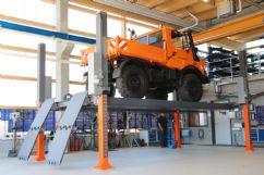 Ticari Araçlar İçin 4 Sütunlu Sabit Platform Lift - 12 Ton (Kapasite) / 6500 mm (Pist uzunluğu)(FKB-HDP12-6500)
