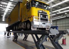Ticari Araçlar İçin Yarı Makaslı Sabit Platform Lift - 2x25 Ton/16000 mm(FKB-HDS50-16000Tandem)