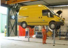 Kamyon, Otobüs ve Ağır Vasıta Araçlar İçin 2 Silindirli Gömülü Lift - 2x7,5 ton - Teleskopik(FCH-TH.5-2-B)