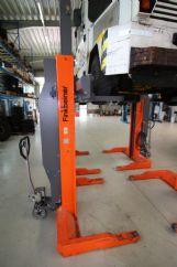 Hava Alanı Yer Hizmetleri Araçları İçin 4 Sütunlu Lift(FKB-EHB706G1DC-4-wireless)