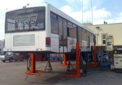 Hava Alanı ve Yer Hizmeti Araçları İçin 4 Sütunlu Mobil Lift(FKB-EHB706G1-4)