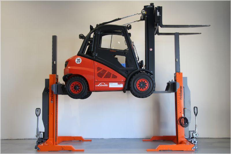 Endüstriyel Araçlar İçin Mobil Lift - 2x5 Ton(FKB-GAB705DC-2-wireless)