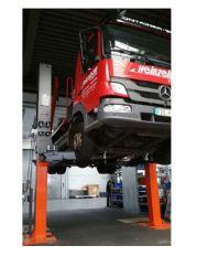 Otomobil, Minibüs ve Kamyonetler İçin Sabit İki Sütunlu Lift - 9 Ton(FKB-TPL9000)