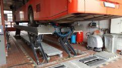 Ticari Araçlar İçin Yarı Makaslı Sabit Platform Lift - 25 Ton/11000 mm(FKB-HDS25-11000Single)