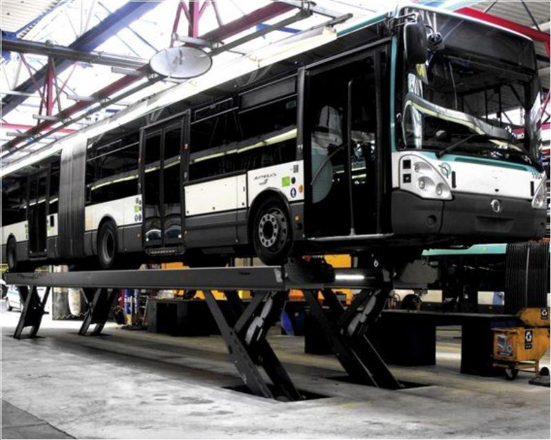 Ticari Araçlar İçin Yarı Makaslı Sabit Platform Lift - 25 ton/12000 mm(FKB-HDS25-12000Single)