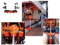 Kamyonlar Ve Ağır Ticari Araçlar İçin Kanal İçi Zemin Krikosu - 14 Ton - Pnömatik+Hidrolik(FCH-SGH.14000-L)